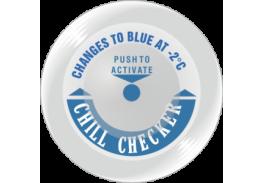 Термоиндикатор для контроля холодовой цепи Chill Checker