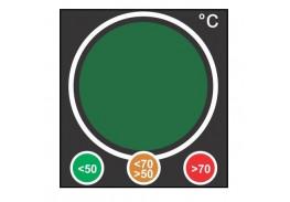 Термоиндикатор горячих поверхностей «Светофор» Hallcrest Traffic Light