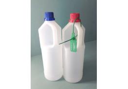 """Пластиковая бутылка """"ЧИБИС"""" 1 л с узким горлом (19 мм) для взятия проб в комплекте с пломбой"""