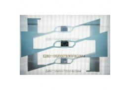 Прозрачная WINDSHIELD UHF RFID метка RU03L8