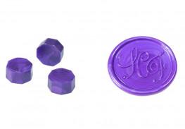 Сургуч в гранулах, фиолетовый