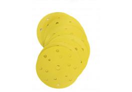 Круг Aбразивный, золотой, 15 отверстий, Р500, 150 мм,3M™ Hookit™ 255P+, 10 шт/уп