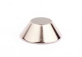 Неодимовый магнит конус 20/10х8 мм