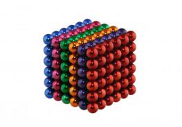 Forceberg Cube - куб из магнитных шариков 5 мм, цветной, 216 элементов