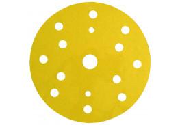Круг абразивный 255P+, золотой, 15 отв, Р120, 150 мм, 3M™ Hookit™