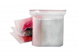 Упаковочные герметичные зип пакеты Forceberg HOME&DIY с замком zip-lock 15х20 см, прозрачные, 100 шт