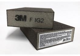 Губка четырехсторонняя, FIN, мягкая, 100 мм х 68 мм х 26 мм, 63198