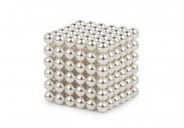 Forceberg Cube - куб из магнитных шариков 6 мм, жемчужный, 216 элементов